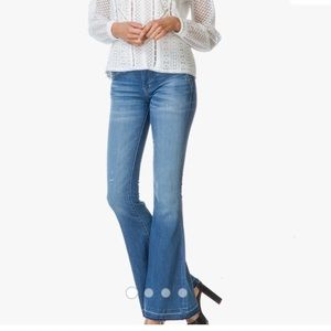CURRENT/ELLIOTT The Low Bell Run Away Jeans nwot